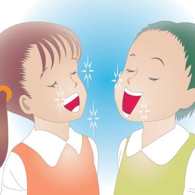 避難所での歯のクリーニング